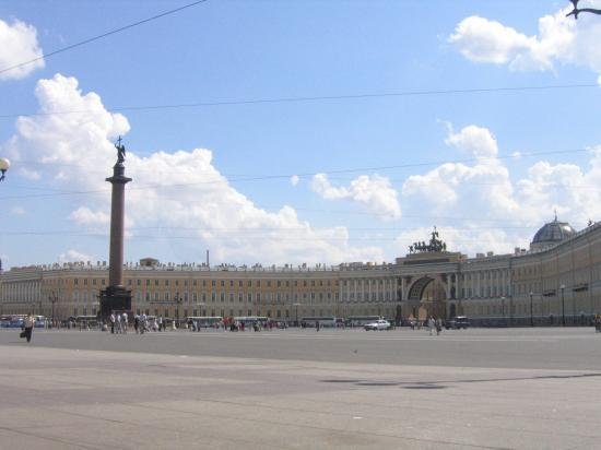 Alexander Square // Place Alexandre le Grand (St-Petersburg, Russia)